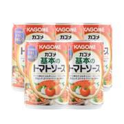 カゴメ KAGOME お買い得なまとめ買いセット [カゴメ基本のトマトソース 缶 295g×5]