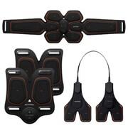 MTG エムティージー 【セットでお得】 SIXPAD チェスト&ツインアーム&アブスベルト (S/M/L)セット [Chest Fit + Arm Belt ×2個 + Abs Belt S/M/L]