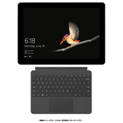 Surface Go タイプカバーキャンペーンセット [マイクロソフト Microsoft KAZ-00032 (Surface Go LTE Advanced シルバー) + KCM-00021 (Surface Go タイプ カバー 10インチ用 ブラック 英字配列)]