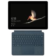 Surface Go タイプカバーキャンペーンセット [マイクロソフト Microsoft KAZ-00032 (Surface Go LTE Advanced シルバー) + KCS-00039 (Surface Go Signature タイプ カバー 10インチ用 コバルトブルー)]