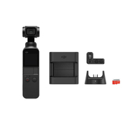 DJI ディージェイアイ Osmo Pocket + Expansion Kit期間限定お買い得セット [「OSPKJP Osmo Pocket ハンドヘルドカメラ 3軸ジンバルスタビライザー搭載 4K対応」 + 「OSPO13 Osmo Pocket Part 13 Expansion Kit 拡張キット」]
