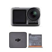DJI ディージェイアイ お買い得セット [OSMACT OSMO Action (アクションカメラ 4K対応) + OSAP01 (Osmo Action Part 1 Battery アクションカメラ用バッテリー)]