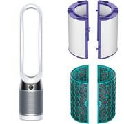 ダイソン Dyson 数量限定 フィルタープレゼントキャンペーンセット [TP04-WS-N (空気清浄機能付きタワーファン Dyson Pure Cool ホワイト/シルバー) + Pure04炭フィルター + Pure04HEPAフィルター]