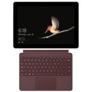 Surface Go タイプカバーキャンペーンセット [マイクロソフト Microsoft MHN-00017 (Surface Go 4GB/64GB シルバー) + KCS-00059 (Surface Go Signature タイプ カバー 10インチ用バーガンディー)]