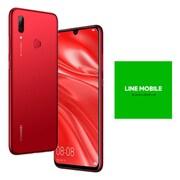 LINEモバイルセットでお得キャンペーン [Huawei ファーウェイ nova lite 3/Coral Red (SIMフリースマートフォン) + LINEモバイル 「エントリーパッケージ(SIMカード後日配送)」のセット]