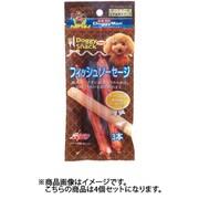 ドギーマンハヤシ ドギーマン ドギースナックバリュー フィッシュソーセージ 3本 犬用おやつ 4個セット
