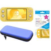 まとめ買いでお買い得!揃えて安心Nintendo Switch Liteセット [任天堂 Nintendo Switch Lite本体 イエロー+ブルーライトカットガラスフィルム+ポーチ BL×BK]