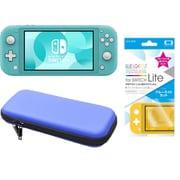 まとめ買いでお買い得!揃えて安心Nintendo Switch Liteセット [任天堂 Nintendo Switch Lite本体 ターコイズ+ブルーライトカットガラスフィルム+ポーチ BL×BK]