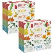 クレシア Crecia スコッティ ティシュー フラワー 160組5箱 2個セット
