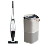エレクトロラックス Electrolux 掃除機 + 空気清浄機 同時購入お買い得セット [Pure Q9 スティックタイプ掃除機 サテンホワイト + 空気清浄機 Pure A9 グレー]