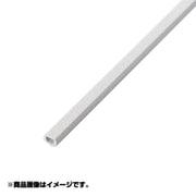 エレコム ELECOM LD-GAFW1/ST フラットモール 壁紙タイプ 石目 幅17.2mm ホワイト 3個