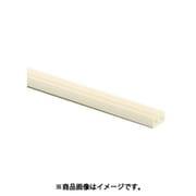 【らくらくカートイン】光 PR-8382 [ガラス戸レール 上部 アイボリー 3mm×1820mm 4本セット]