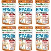 【まとめ買い割引】ディアナチュラスタイル Dear-Natura Style アサヒグループ食品 EPA×DHA+ナットウキナーゼ 240粒入り 60日分 6個セット