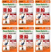 【まとめ買い割引】ディアナチュラスタイル Dear-Natura Style アサヒグループ食品 亜鉛 60粒入り 60日分 6個セット