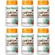 ディアナチュラ Dear-Natura アサヒグループ食品 ノコギリヤシ with トマトリコピン 120粒入り(60日分) 6個セット