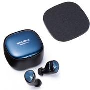 完全ワイヤレスイヤホン&ワイヤレス充電器セット [Noble Audio NOB-FALCONPRO-B FALCON PRO Black + エミライ EMI-NEST-B NEST Black]