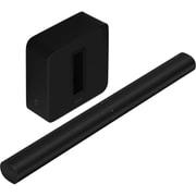 【らくらくカートイン】Sonos ソノス ホームシアターセット 「ARCG1JP1BLK Sonos Arc スマートサウンドバー ブラック」+「SUBG3JP1BLK Sonos Sub ワイヤレスサブウーファー(Gen3) ブラック」