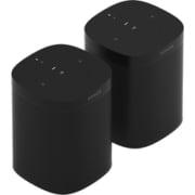 【らくらくカートイン】Sonos ソノス スピーカーセット [ONEG2JP1BLK Sonos One(Gen2) スマートスピーカー ブラック×2個セット]