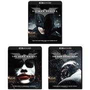 【らくらくカートイン】ダークナイト トリロジー「バットマン ビギンズ」「ダークナイト」「ダークナイト ライジング」全3巻セット クリストファー・ノーラン バットマン3部作 [UltraHD Blu-ray]