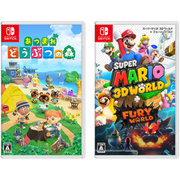 【まとめ買いがオトク!】 「あつまれ どうぶつの森」 + 「スーパーマリオ 3Dワールド + フューリーワールド」 [Nintendo Switchソフト]