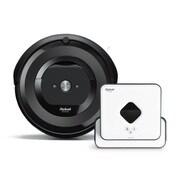 iRobot アイロボット ルンバ + ブラーバ 同時購入お買い得セット [「ルンバ e5 ロボット掃除機 Roomba(ルンバ) チャコール」 + 「B390060 床拭きロボット Braava 390j(ブラーバ) ホワイト」]