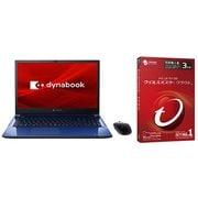 【まとめ買い割引】ノートパソコン+セキュリティソフトセット [Dynabook T8/16.1型/Core i7 1165 G7/1TB SSD+32GB インテルOptaneメモリ/メモリ 16GB/スタイリッシュブルー/ヨドバシカメラ限定モデル SSD増量モデル+ウイルスバスター クラウド 3年版]