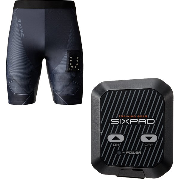 【らくらくカートイン】MTG SIXPAD シックスパッド パワースーツ ライト ヒップアンドレッグ メンズ M + 専用コントローラー セット [SE-AW00B-M + SE-AU00A]