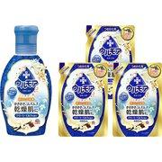 【らくらくカートイン】アース製薬 ウルモアクリーミーミルク 本体&つめかえセット [保湿入浴液ウルモアクリーミーミルク 600mL + 保湿入浴液ウルモアクリーミーミルクつめかえ 480mL]