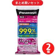 【らくらくカートイン】パナソニック Panasonic AMC-HC12 消臭・抗菌加工「逃がさんパック」M型Vタイプ [2個セット]