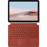 【まとめ買い割引】Surface Go 2 タイプカバーセット [「TFZ-00011 Surface Go(サーフェス ゴー 2) 10.5インチ/LTE/Core m3/メモリ 8GB/SSD 128GB/プラチナ」 + 「KCS-00102 Surface Go Signature タイプ カバー ポピーレッド」]