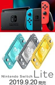 Nintendo Switch Lite特集