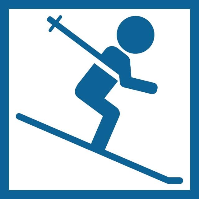 スキー対応スマートウォッチ