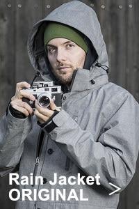 COOPH クーフ PHOTOGRAPHER Jacket CAPE Light gray