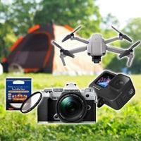 キャンプにおすすめのカメラアイテム特集