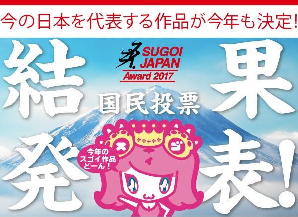 SUGOI JAPAN 投票結果発表