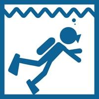 ダイビング対応スマートウォッチ