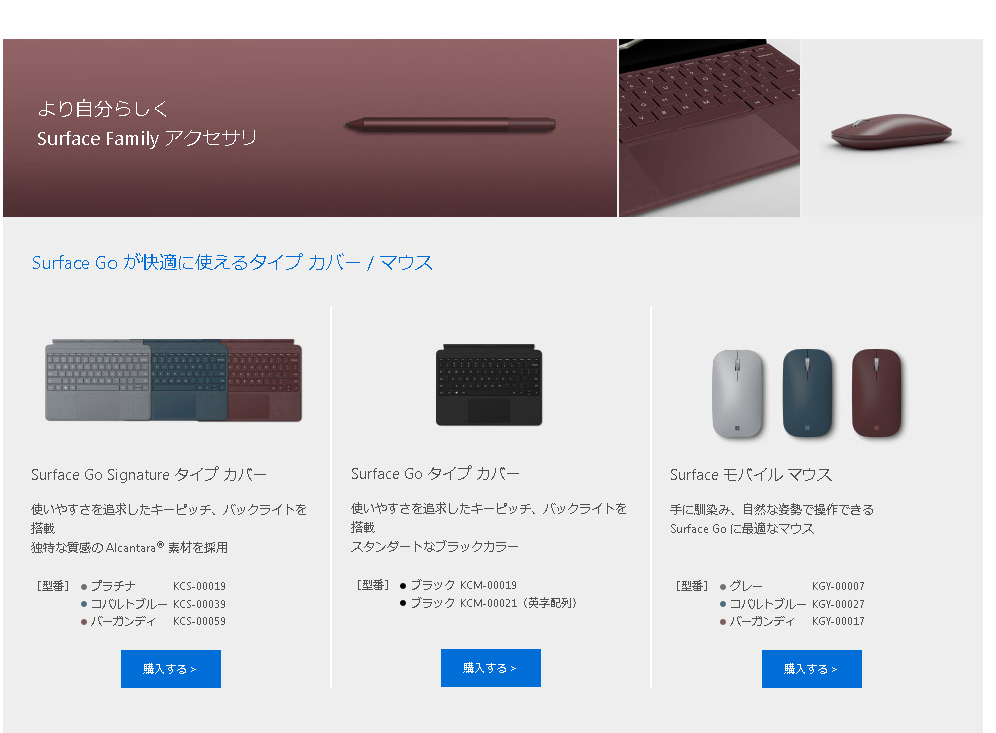 Surface Go Accessory1